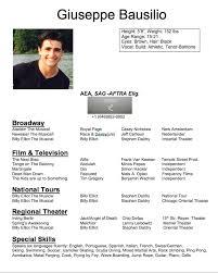 ResumeBio's Giuseppe Bausilio Classy Resume Bio
