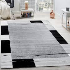 designer rug living room rug border in grey black cream unbeatable deal