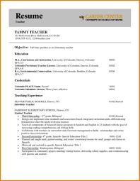 Elementary Teacher Resume Sample First Year Elementary Teacher Resume ArtusMaroc 55