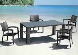 stunning modern outdoor dining set dining room the elegant modern outdoor dining table modern modern
