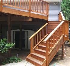 Imposing Ideas Exterior Stair Railings Best 25 Deck Stair Railing Ideas On  Pinterest Deck Stairs