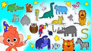 Club Baboo   The <b>Animal</b> Alphabet   Learn the ABC with Baboo's ...