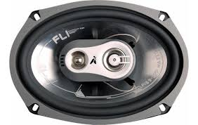 speakers car. fli fi69 6x9\u0026#034; 3 way coaxial car speakers