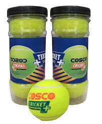 Cosco Light Weight Cricket Ball Cosco Cricket Plus Light Weight Cricket Ball Pack Of 3