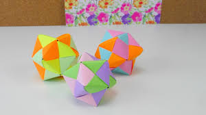 Origami Stern Ball Falten Tutorial Modular 12 Star Folding