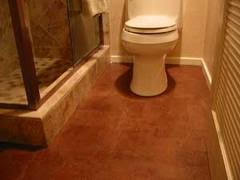 cork flooring in the bathroom. Cork And Moisture Issues, Can Be Installed In A Bathroom? Flooring The Bathroom R