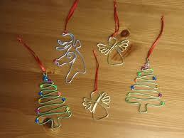 Diy Christbaumschmuck Draht Weihnachten Washer Necklace