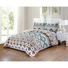 native american bedding lo 3 piece white blue orange southwest quilt queen set tan native bedding native american bedding