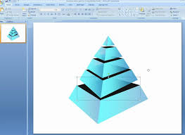 Pyramid Powerpoint How To Make Additional Layers In 3d Pyramids In Powerpoint Youtube