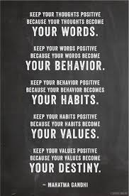 Keep Your Word Quotes Cool Keep Your Thoughts Positive Because Your Thoughts Become Your Words