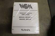 kubota tractor manual kubota m6800 m8200 m9000 m 6800 8200 9000 tractor service repair manual