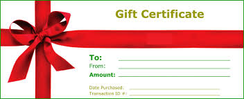 Gift Voucher Template Gift Certificate Templates To Print Activity Shelter