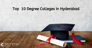 Top 10 Degree Colleges in Hyderabad [2021] - Web Trainings
