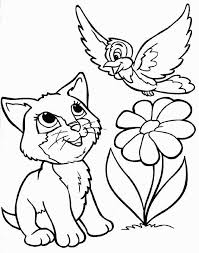 Printable Kitten Coloring Pages Elegant Kitten Color Pages Fresh
