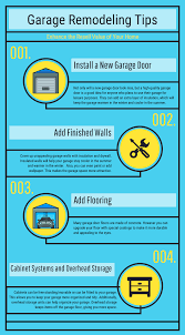 4 Great Remodeling Tips for Your Garage - Infographic - Precision ...