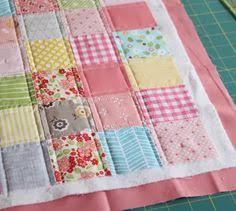 I made a doll quilt before Christmas and realized I'd never posted ... & I made a doll quilt before Christmas and realized I'd never posted a  tutorial on this quick and easy binding method. Since I know a lot of you  are ... Adamdwight.com