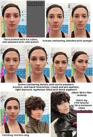 joker akira ren makeup transformation step by step