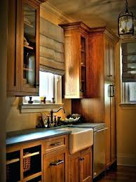 medium oak kitchen cabinets. Oak Kitchen Cabinet Inspiration For A Farmhouse Single Wall Remodel In New With . Medium Cabinets