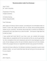 School Letters Templates Scholarship Recommendation Template For A Student Academic