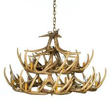 lighting engaging faux deer antler chandelier 16 endless photography 110 faux deer antler chandelier