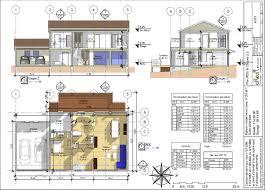 plan de maison moderne gratuit pdf duplex chambres d architecte amazing villa good faceto trouvez les