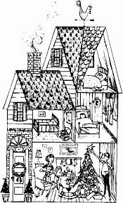 Small Picture Coloring Pages Victorian House Coloring Page Free Printable