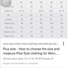 Forever 21 Size Chart Not For Sale Dresses My Posh Closet