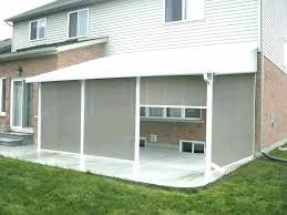 patio retractable patio screen enclosures porch kits cushions target