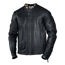 Roland Sands Design Jackets Roland Sands Design Barfly Leather Jacket Black Bikewear