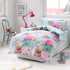 Adairs Kids Girls Monsoon Quilted - Bedroom Quilt Covers ... & The Monsoon Quilted cover is the perfect touch of girly style in your  little ones room from Adairs Kids. Quilted floral in soft pinks, greens and  blues, ... Adamdwight.com