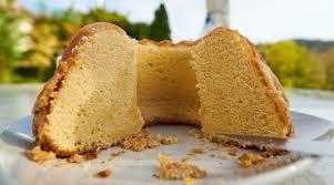 Golden Lemon Almond Cake