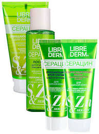 <b>LIBREDERM Seracin</b>, problem, oily skin, anti acne, fight against ...