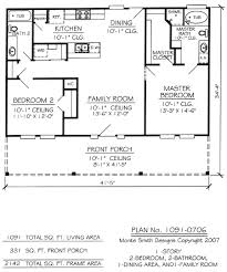Free Two Bedroom Home Plans Full Size. Creative ...