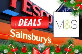 Best Supermarket Christmas Deals Tesco Sainsburys And M S
