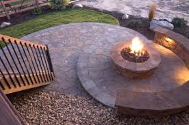 how to start a fire pit with wood how to build an outdoor fire pit with