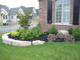 Small Picture Front Flower Bed Landscaping Ideas How Much Does Landscaping
