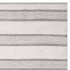 perennials awning stripe indoor outdoor rug grey
