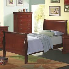 Louis Philippe Furniture Bedroom Coaster Furniture 200431t Louis Philippe Twin Sleigh Panel Bed In