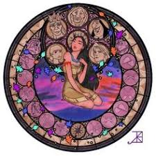 Small Picture Pocahontas Stained Glass line art by Akili Amethystdeviantart