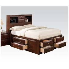 Manhattan Bedroom Furniture Manhattan Bed With Storage Multiple Colors Sizes By Acme