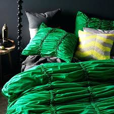 kelly green comforter emerald duvet covers