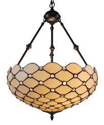 hang lighting. Amora Lighting AM1117HL18 Tiffany Style Ceiling Hanging Pendant Lamp 18-Inch 2 Lights, White - Amazon.com Hang M