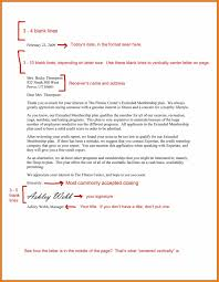proper spacing in a business letter 5