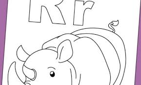Top 10 Letter R Coloring Pages Your Toddler Will Love To Learn