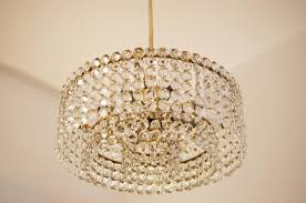 image of elegant mini crystal chandelier