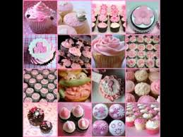 Pink And Grey Baby Shower Cupcakes Tags  Amazing Baby Shower Pull Apart Baby Shower Cupcakes