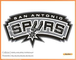Spurs Embroidery Design San Antonio Spurs 2002 03 2016 17 National Basketball Association Basketball Sports Embroidery Logo In 4 Sizes Spln003788