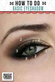 eye makeup how to do basic eyeshadow easy and simple step by step tutorials