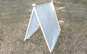 Diy Tent How To Make A Kids A Frame Tent Home Improvement Projects To