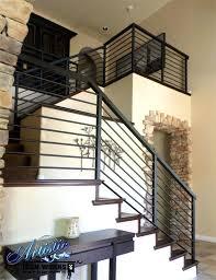 Wrought Iron Indoor Railing Wrought Iron Stair Railings Interior ...